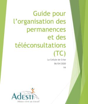 Logigramme Téléconsultation V4 LBE Le 06 04 2020